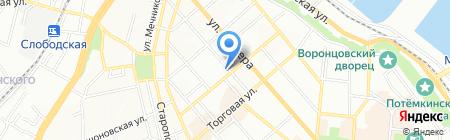Проминь ЧП на карте Одессы