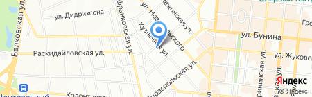 Ukraine Maritime Serviсe на карте Одессы