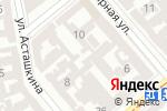 Схема проезда до компании Style Work в Одессе