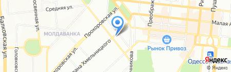 Аптека 24 на карте Одессы