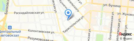 Элефант Тревел на карте Одессы