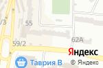 Схема проезда до компании Анастасія в Одессе