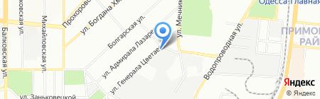 Витмарк-Украина на карте Одессы