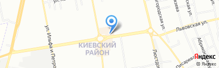 Фасон на карте Одессы