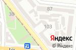 Схема проезда до компании Л-Тур Одесса в Одессе