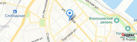 Сигал на карте Одессы