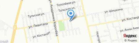 Шери на карте Одессы