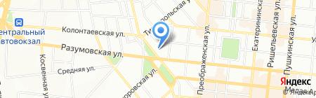 Л-Тур Одесса на карте Одессы