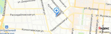 Детский сад-ясли №256 на карте Одессы
