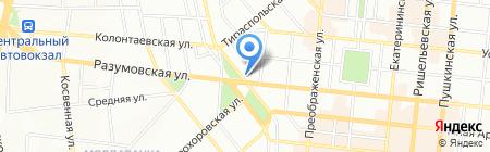 Детский сад-ясли №69 на карте Одессы
