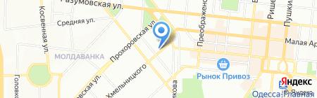 Банкомат Міжнародний Інвестиційний Банк на карте Одессы