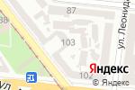 Схема проезда до компании Бомбоубежище в Одессе
