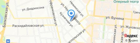 Детский сад-ясли №68 на карте Одессы