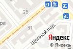Схема проезда до компании Всякая Всячина в Одессе