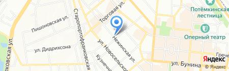 Лео на карте Одессы