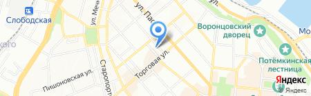 Геотерм Юг на карте Одессы