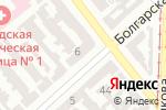 Схема проезда до компании Беліссімо в Одессе