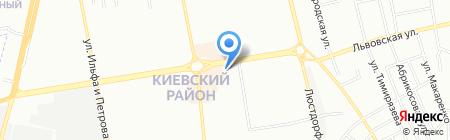 Окнострой на карте Одессы