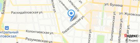 Культ Тура на карте Одессы