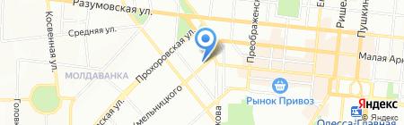 Отдых на славу на карте Одессы