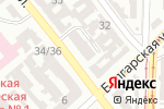 Схема проезда до компании Компьютерсерв в Одессе