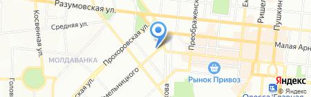 Zerkalo на карте Одессы