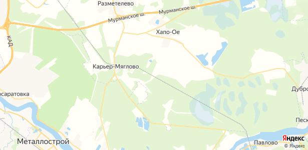 Манушкино на карте