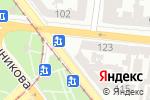 Схема проезда до компании Вагон в Одессе