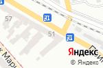 Схема проезда до компании Италкомфорт в Одессе