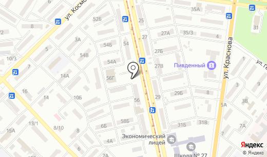 Капитал ПО. Схема проезда в Одессе
