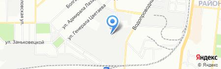Укр-Мегабакс 2000 на карте Одессы