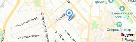 Китеж Град на карте Одессы