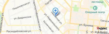 Феникс Транс Сервис на карте Одессы