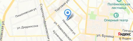 Одесский союз звукорежисеров и музыкантов на карте Одессы