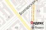 Схема проезда до компании Алми в Одессе