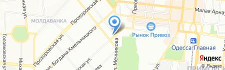 Eclima на карте Одессы