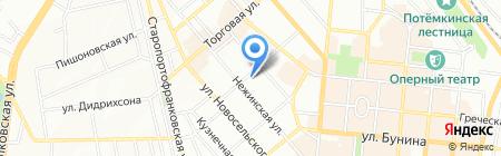Детский сад-ясли №52 на карте Одессы