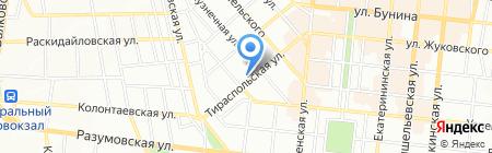 Променад Тур на карте Одессы