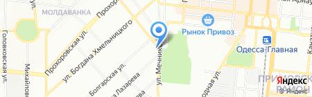 Мото-клуб Мотор-лайф Одесса на карте Одессы