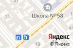 Схема проезда до компании Твой CDMA в Одессе