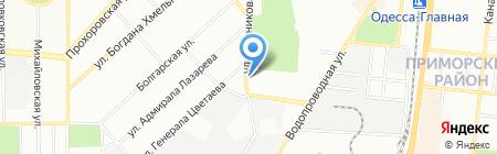 Автомойка №1 на карте Одессы