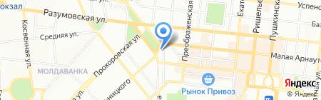 Одесская специализированная школа №99 I ступени с углубленным изучением английского языка на карте Одессы