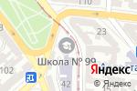 Схема проезда до компании Dance life в Одессе