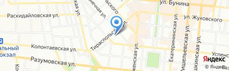Съешка-поешка на карте Одессы