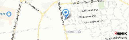 Укртехбезопасность на карте Одессы