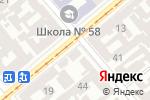 Схема проезда до компании Компьютерный дом в Одессе