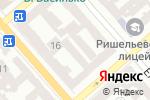 Схема проезда до компании Моготекс-Одесса в Одессе