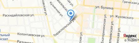 Одесская общеобразовательная школа №58 I-III ступеней на карте Одессы