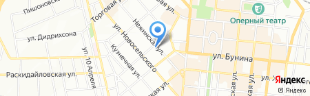 Кабачок на карте Одессы
