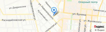 Доминанта на карте Одессы